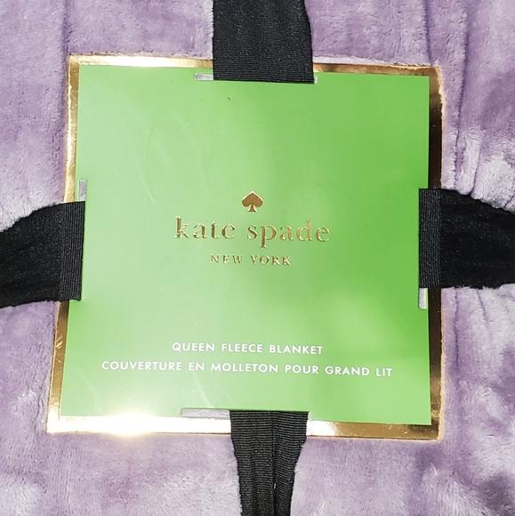 kate spade Other - Kate Spade Queen fleece
